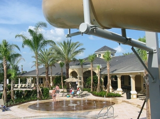 Condo to rent in windsor hills resort kissimmee orlando photo album for Windsor swimming pool with slides