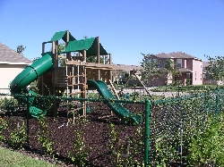 Nearby childrens playground