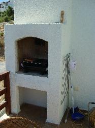 Brick Built BBQ on Balcony