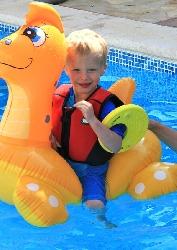 More fun in the pool