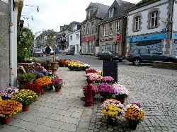 Guemene high street:10 mins away