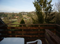 View from the terrace of Bellevue G�te