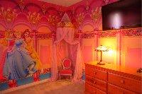 Princess bedroom with Princess Throne