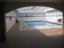 heated indoor swiming pool