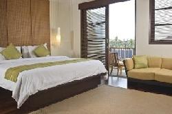 Main bedroom and balcony