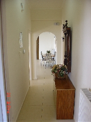 corridor to the bedrooms