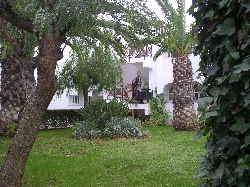 Typical garden area in Tavira Garden