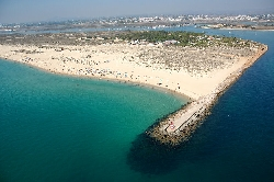 Tavira Island has 12km of white beaches