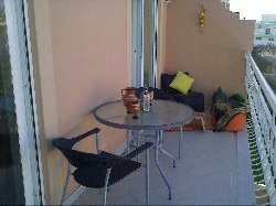 Fully furnished double balcony