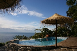 relax in privacy & seclusion