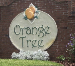 Entrance to Orange Tree