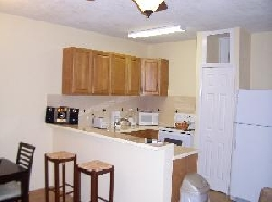 Kitchen of One Bedroom Apartment