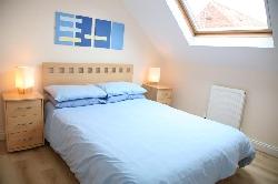 Bedroom 1 at Riverside Cottage