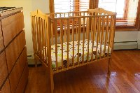Upon request baby cot up to 18 months