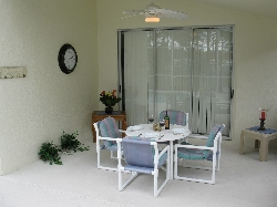 Pool Covered Dining Area