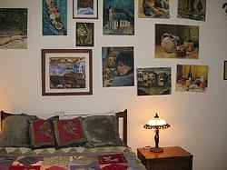 Gallery bedroom - downstairs - queen bed