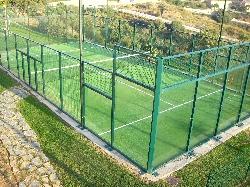 On site short tennis