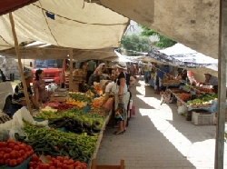 Gulluk Market Every Thursday by Rose Gar