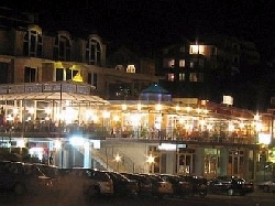 St Vlas village at night