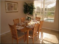 View of dining room off kitchen