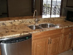 Granite Counters and Beautiful Cabinetry