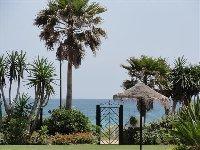 Direct access to beach through gardens