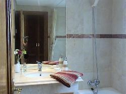 Master bedroom's en-suite bathroom