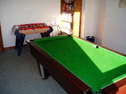 Pool Table & Table Footy