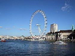 Take a flight on the London Eye!