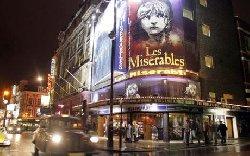 West End Theatreland - 20 mins. by train