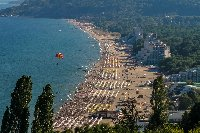 Albena seen from the villa