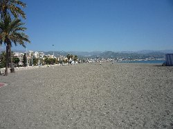 Local Beach at Torre Del Mar
