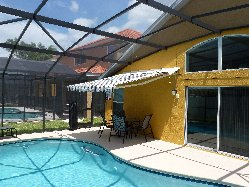 Sun Awning and Pool Side Dining