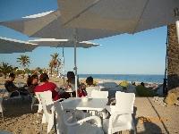 One of the beach bars on Playa Paraiso.