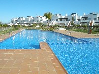Pool has shallow children's area