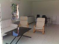 lounge-dining interior