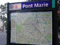 Metro Pont Marie