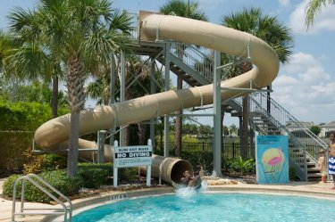 Townhouse to rent in windsor hills resort orlando kissimmee disney area photo album for Windsor swimming pool with slides