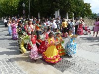 Yunquera local fiesta