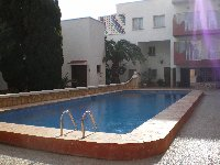 Large communal swimming pool