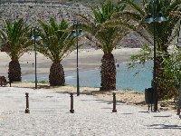 The promenade in Praia Da Luz