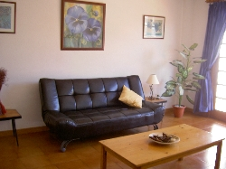 Lounge in one bedroomed apartment