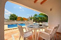 Naya or covered terrace at 3 bed villa