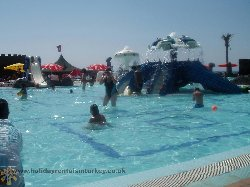 Aqua Park ( 15 mins)