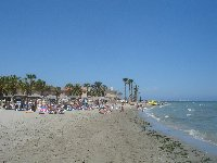Nearest beach on the Mar Menor