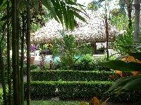 Villa garden views