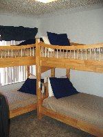 TWO sets of twin size bunk beds!