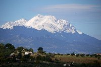 Views of Gran Sasso mountain Range