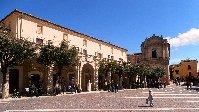 Bucchianico's historic main piazza