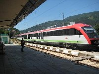 Train from Svoge to Sofia